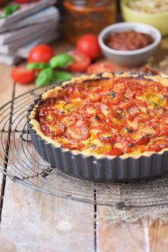 Tomaten Parmesan Tarte - Parmesan Tomato Tart (7)