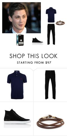 """""""O Haras da Minha Vida - Cap. 11"""" by thaliasalvatore ❤ liked on Polyvore featuring Ralph Lauren Blue Label, Gucci, Common Projects, Caputo & Co., Givenchy, men's fashion and menswear"""
