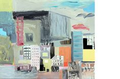 Michael Calver PRECINCT 2014 20x24 ins Acrylic on canvas