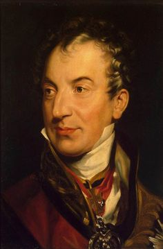 Sir Thomas Lawrence - Portrait of Klemens Wenzel von Metternich - Date: Between 1814 - 1819.
