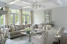A grey colour scheme that you were keen on? Living Room Remodel, Layout, Interior S, Living Room Inspiration, Diy Room Decor, Home Decor, Living Spaces, Living Rooms, Great Rooms