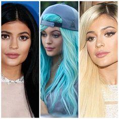 Diva luxo: Os cabelos da Kylie Jenner