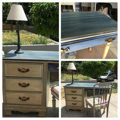 Painted Furniture, Dresser, Home Decor, Powder Room, Stained Dresser, Interior Design, Home Interior Design, Dressers, Credenzas