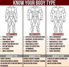 Know your body type and train right!