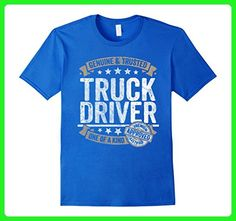 Mens Truck Driver Gift Genuine Trusted Profession Job Tee Shirt Small Royal Blue - Careers professions shirts (*Amazon Partner-Link)