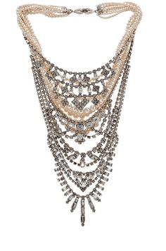 Tom Binns|Candy Rhodium Tiered Necklace in Multi http://rstyle.me/n/f4g54ngmw