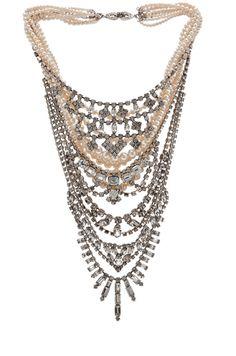 Tom Binns - Candy Statement Necklace #Jewelry