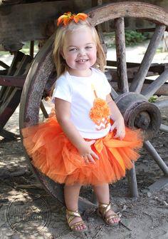 ORANGE CHEVRON SET--Birthday Girl Cupcake Bodysuit and Tutu Skirt Set with Free Flower Clip, Newborn,1st, 2nd, 3rd, 4th, 5th Birthday by HAPPY BUBKIN on Etsy