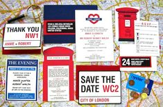 Hellolucky_Love_London_Wedding_Invitation_Suite so cute for a travel themed wedding! British Party, British Wedding, Wedding Invitation Suite, Wedding Stationary, Invitation Ideas, Invites, London Party, Wedding Graphics, Funny Wedding Photos