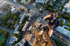 Russian thrill-seeking photographers Vitaly Raskalov and Alexander Remnov reach incredible altitudes to capture some astounding visuals.