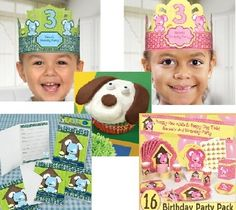 Throw a birthday party with a puppy dog theme for a boy or girl