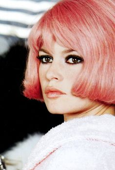 Brigitte Bardot in A Coeur Joie (Two Weeks in September) (1967) #pinkhair #movie #celebrity