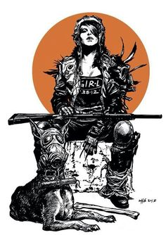 Tankgirl #Threat of #violence a seemingly easy alternative to a #misogyny world. But not a high road and perhaps to much of a turn on. #feminism