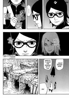 Naruto Gaiden: The Seventh Hokage 9 - Page 4 - aww! Go save your mama, Sarada!!