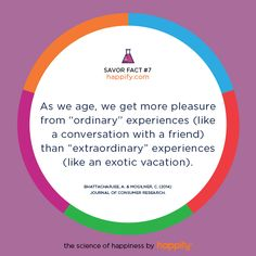 The Ordinary is Exactly What's Extraordinary  happify.com
