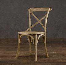 Madeleine Side Chair Weathered Oak - restoration hardware