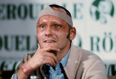 Probably the bravest man in F1 history - the Gritty Niki Lauda