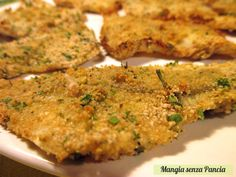 Filetti di pesce gratinati light