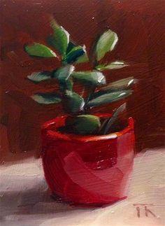 "Daily Paintworks - ""In Full Bloom"" - Original Fine Art for Sale - © Thomas Ruckstuhl"