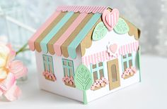 Hello and welcome to the first group post for the July Papertrey Ink Release! The new products you are seeing here will be availabl. 3d Paper Crafts, Diy And Crafts, Crafts For Kids, Kawaii Gifts, Paper Houses, Easter Crafts, Cool Gifts, Cardmaking, Decorative Boxes