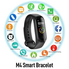 Smart Band Wristband Bracelet Blood Pressure Heart Rate Monitor Pedometer Fitness Smartband Sports Wearable Devices - Sell My Racket - Electronics gadgets,Electronics apple,Electronics for teens,Electronics organization,Electronics projects Bluetooth, Smartwatch, Smart Fitness Tracker, Blood Pressure Watch, Android 4.4, Remote Camera, Wearable Device, Fitness Bracelet, Sports