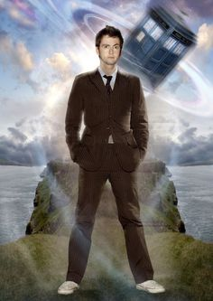 David Tennant as Doctor Who - awesome pic