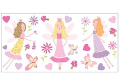 Fun4Walls WS40250 Fairy Garden Wall Stickers >>> You can get more details by clicking on the image.Note:It is affiliate link to Amazon.