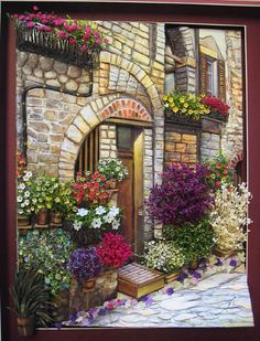 Decoupage www. L'art Du Ruban, Pintura Colonial, Belle Image Nature, Band Kunst, Silk Ribbon Embroidery, Embroidery Thread, Ribbon Art, Bob Ross, Painting Lessons