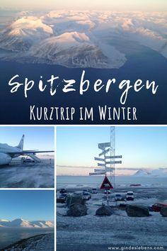 Spitzbergen Kurztrip im Winter. Spitzbergen ist eine Inselgruppe im Nordatlantik und Arktischen Ozean, die von Norwegen verwaltet wird. Die Arktis erleben. Hotels, zahlreiche Tipps, Sehenswertes, Aktivitäten, Touren und Reiseberichte auf www.gindeslebens.com #Spitzbergen #Arktis #Norwegen #Winter #Svalbard
