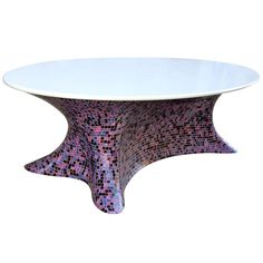Fabio Novembre, table, Italy, circa 2012, unique piece. | From a unique collection of antique and modern dining room tables at https://www.1stdibs.com/furniture/tables/dining-room-tables/