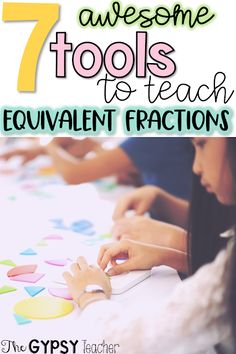Equivalent Fractions can be tricky to teach and learn, especially teaching equivalent fractions to grade 3 and grade 4! But with these hands on equivalent fractions tools and equivalent fractions models, your students will thrive! They will know all about equivalent fractions- how to know if they're equivalent and how to convert one fraction to another, for example: equivalent fraction 3/4 can be 6/8, 9/12, etc.      #3rdgrade #4thgrade #fractions