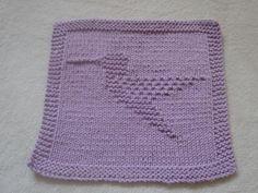 Hummingbird Dishcloth pattern on Craftsy.com