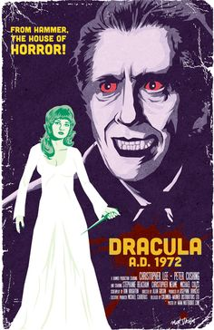 Hammer film Dracula A.D. 1972.