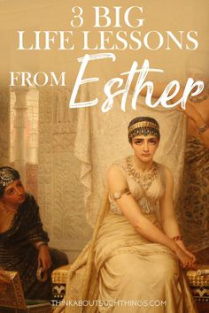 Dig into this Bible lesson on Esther. Esther may have been beautiful, but there is a lot more to her than just her pretty face. She was a woman that God used to save her nation. Learn 3 key things from her life. Esther Bible Study, Bible Study Plans, Bible Study Notebook, Bible Study Guide, Bible Study Journal, Scripture Study, Esther In The Bible, Scripture Journal, Bible Teachings