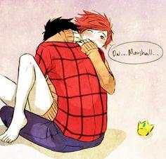 Marshall Lee and Gumball - marshall-lee-and-prince-gumball Fan Art