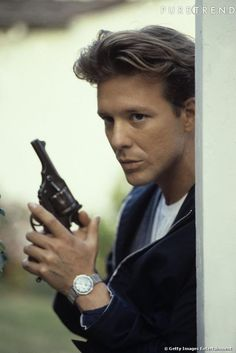 Young Mickey Rourke, 1980s