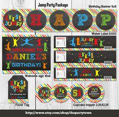 Jump Birthday party package Bounce house package by ThePartyTown