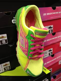 Colorful @SKECHERS USA USA at Shoe Carnival