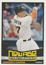 2015 Topps Heritage New Age Performers #NAP-4 Giancarlo Stanton - Miami Marlins