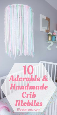 10 Adorable U0026 Handmade Crib Mobiles