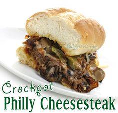 Crockpot Cheesesteak