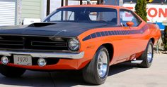 Original 1970 Plymouth AAR Cuda Muscle Car Review