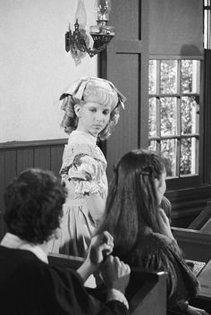 PRAIRIE 'May I Have This Dance' Episodie 21 Aired 3/14//83 Pictured Allison Balson as Nancy Oleson