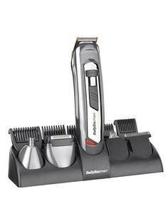 BaByliss 10 in 1 Titanium face & body grooming kit Babyliss For Men, Body Groomer, Foil Shaver, Dove Men Care, System Model, Unwanted Hair, Amazon Price, House Of Fraser, Men's Grooming