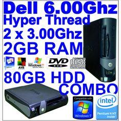 Fast powerfull Dell Desktop 3.00ghz 2gb mem 80gb hard drive