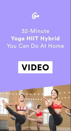 This HIIT-Yoga Hybrid Makes You Feel Like You Actually Got a Good Workout (Video included) – The Owl & Me