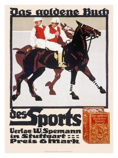 #Hohlwein Golden Book of Sports Horse Polo (c.1920) #boss