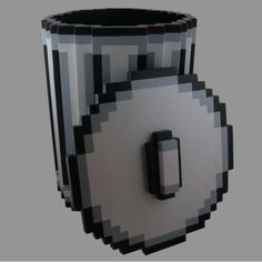 windows 95 trash -  via http://www.instructables.com/id/Pixel-Trash-Can/