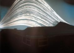 Happy Solstice! This picture was taken by a solargraph (simple pinhole camera made of a beer can ) between June 21 and December 20, 2012. The camera was fix...