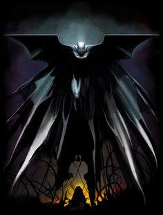 Batman: Rise // artwork by Andie Fairhurst